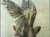 Engel mit einem Fluegel 1, 84cm x 85cm