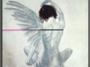 Engel mit einem Fluegel 3, 84cm x 85cm
