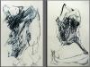 Tease, Tanz, Ölstick, 125 x 200 cm